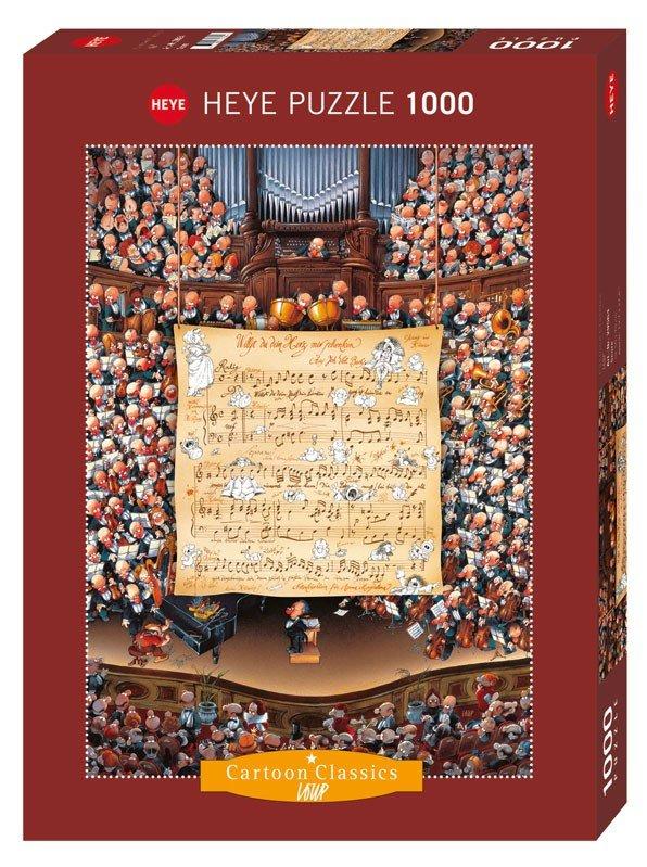 پازل ۱۰۰۰ تکه امتیاز اثر ژان ژاک لوپ
