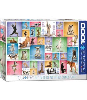 پازل 1000 تکه Yoga Dogs