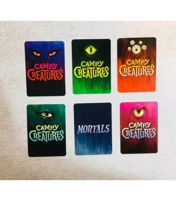 کارتهای بازی هیولا