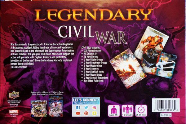 A Marvel Deck Building Game – Civil War