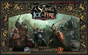 A Song of Ice and Fire Stark vs Lannister