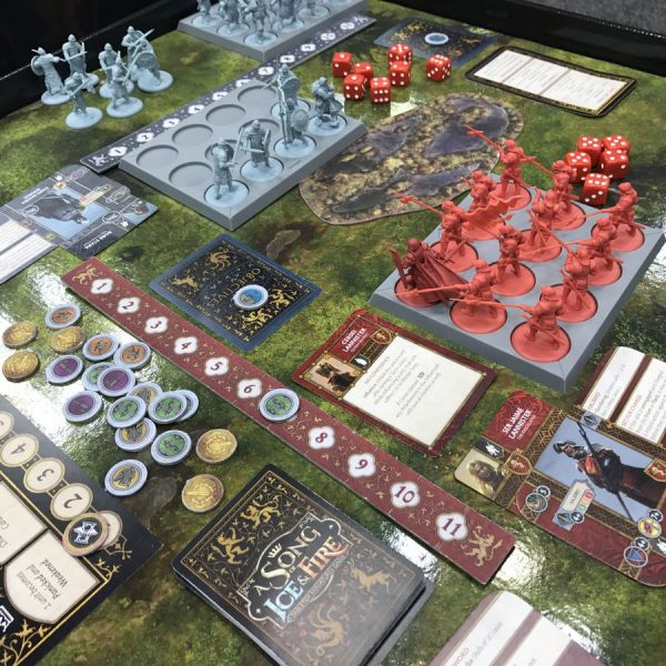 A Song of Ice and Fire Stark vs Lannister board game