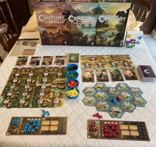 Century New World tabletop game