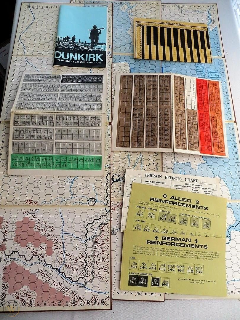 Dunkirk The Battle of France (1971)