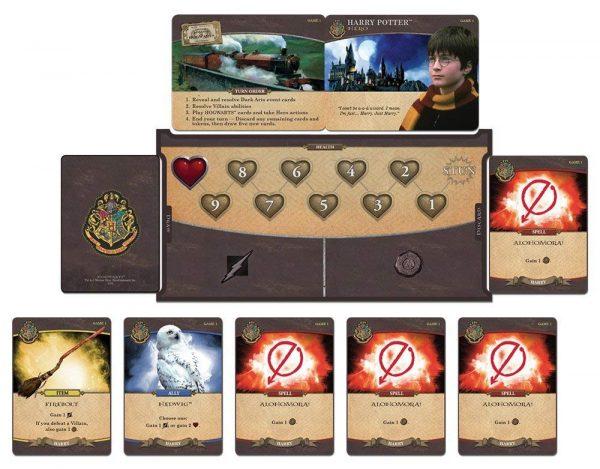 Harry Potter Hogwarts Battle card