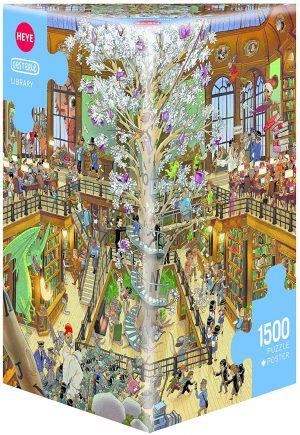 Jigsaw Puzzle: HEYE - Library (1500 Pieces)