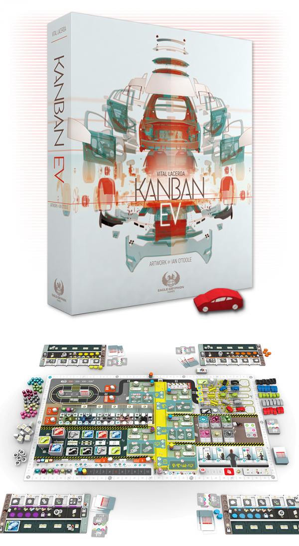 Kanban EV tabletop game