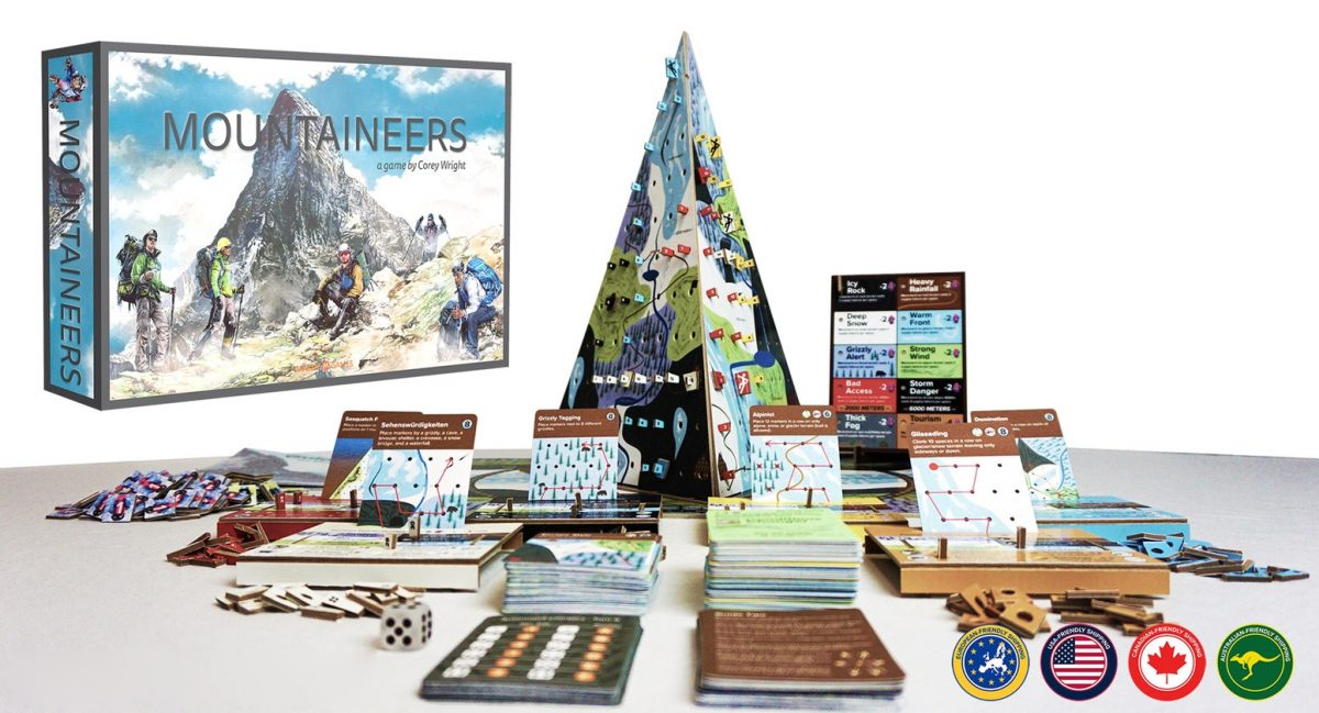 Mountaineers board game