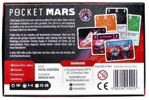 Pocket Mars board game