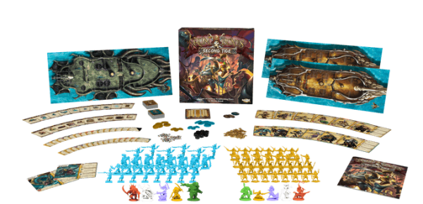 Rum & Bones Second Tide board game