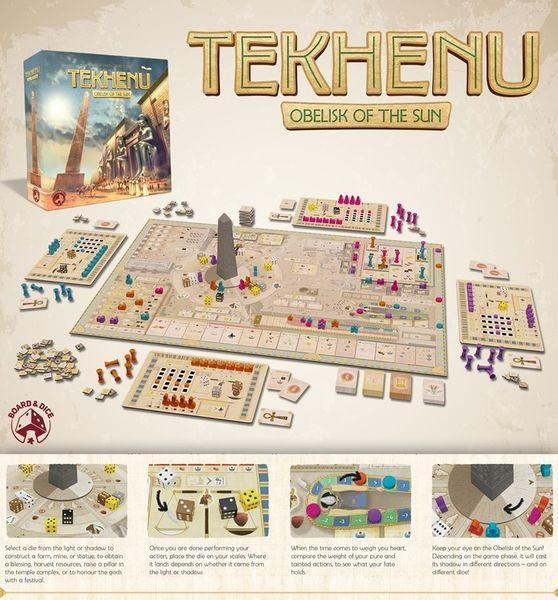 Tekhenu board game