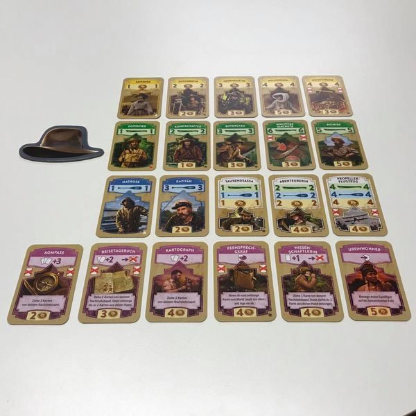 The Quest for El Dorado cards