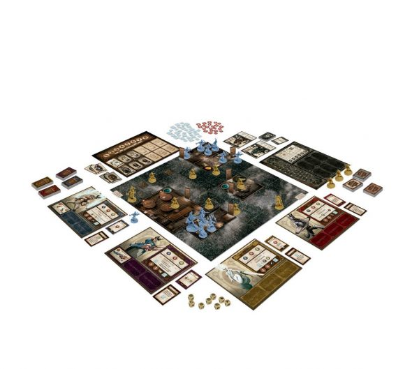 The World of SMOG Rise of Moloch tabletop games