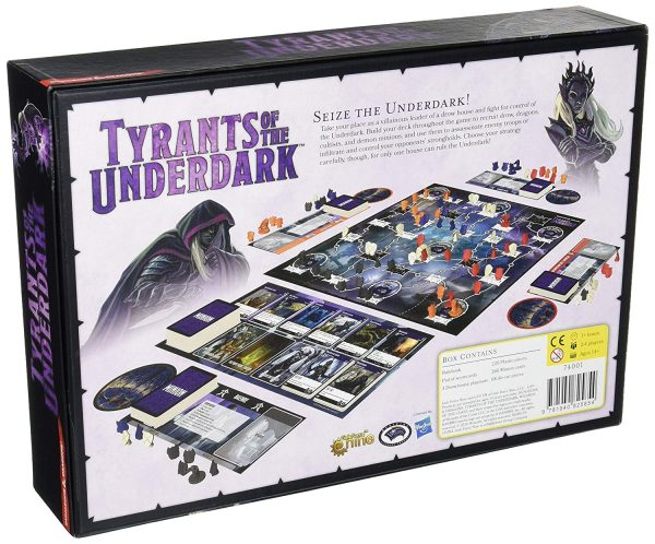 Tyrants of the Underdark Board Game - Dungeons & Dragons