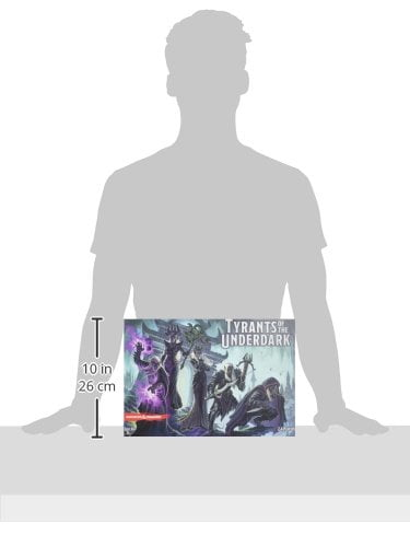 Tyrants of the Underdark Board Game - box size