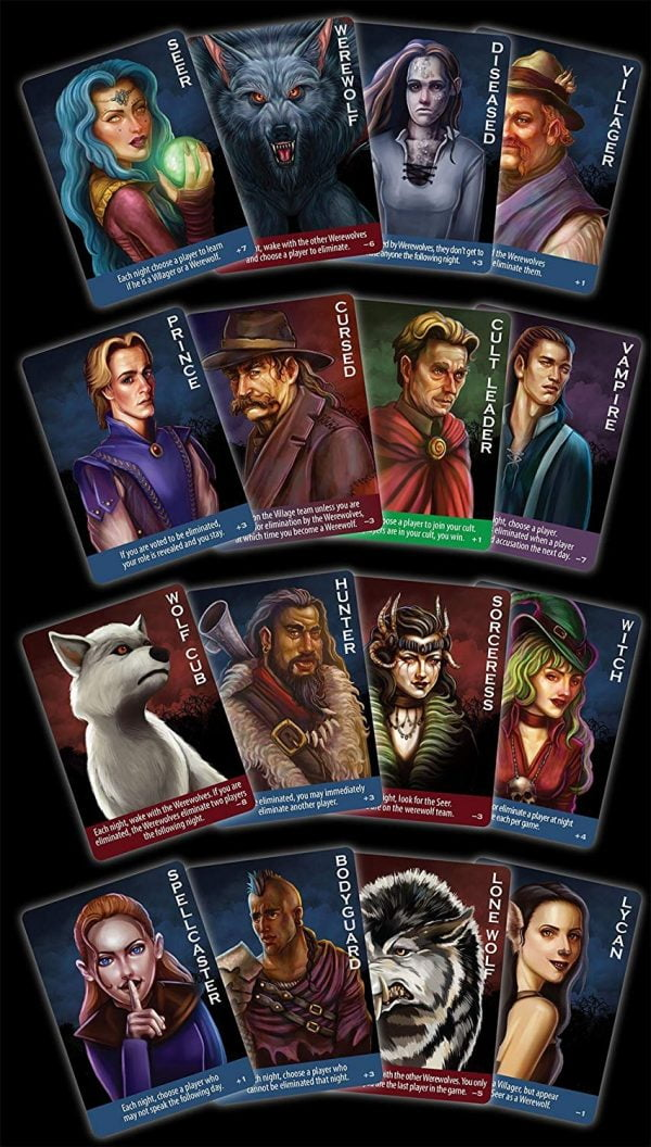 Ultimate Werewolf Deluxe Edition Cards
