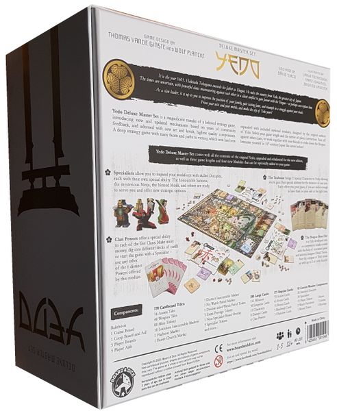 Yedo Deluxe Master Set board game