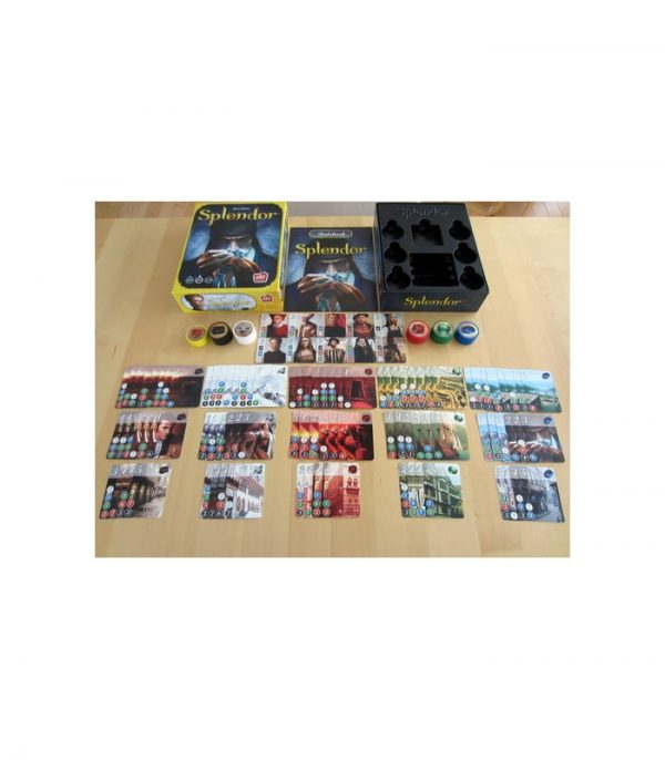 splendor tabletop game